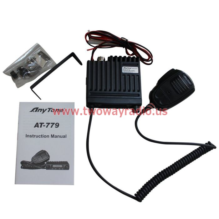 New VHF UHF 70CM Micro-sized Car Radio Anytone AT-779 Smart Amateur Mobile  Transceiver