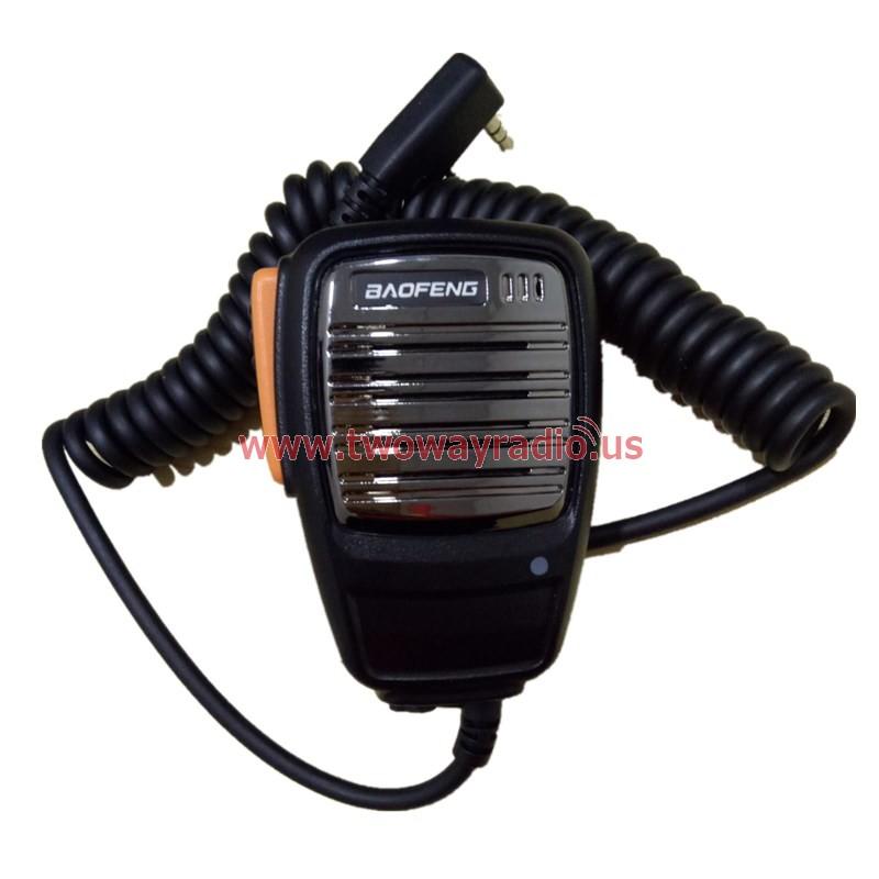 Handheld Speaker Microphone 2pins for Baofeng Kenwood Wouxun TYT Two Way  Radio