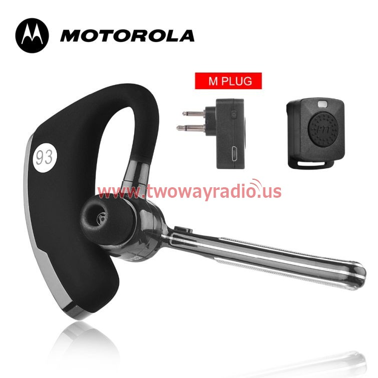 Motorola Walkie Talkie M Head Wireless Bluetooth Headset Two Way Radio M Interface Headphone Earpiece Radio Transceiver Two Way Radio
